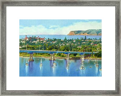 Coronado Island California Framed Print by Mary Helmreich