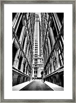 Corporatocracy Framed Print by Az Jackson