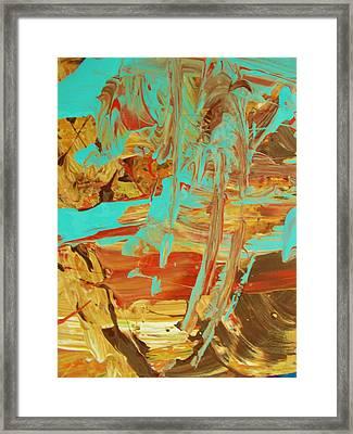 Cosmic Energy Framed Print by Artist Ai