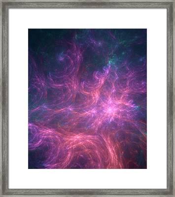 Cosmic Inflation Artwork Framed Print by David Parker