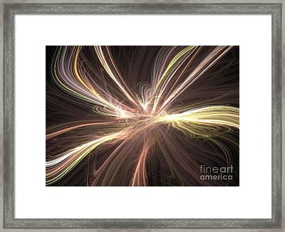 Cosmic String Framed Print by Kim Sy Ok