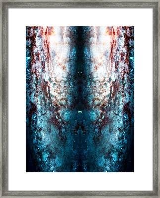 Cosmic Winter Framed Print by The  Vault - Jennifer Rondinelli Reilly