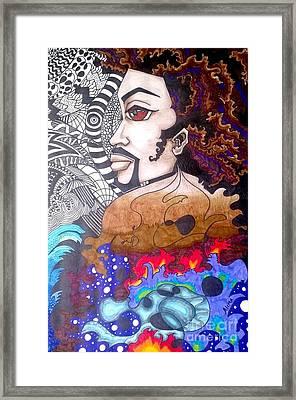 Cosmos Framed Print by Alima Newton