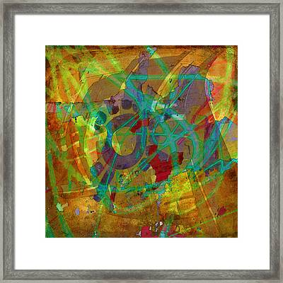Cosmos Framed Print by Kandy Hurley