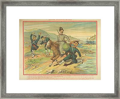 Cossack Framed Print by British Library
