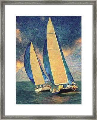 Costa Smeralda Framed Print by Taylan Apukovska
