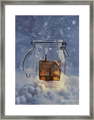 Cosy Home Framed Print by Amanda Elwell