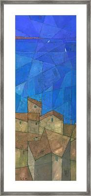 Cote D Azur II Framed Print by Steve Mitchell