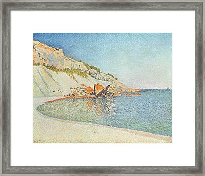 Cote D'azur Framed Print by Paul Signac