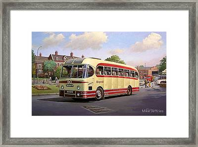 Cotswold Tour 1957 Framed Print by Mike  Jeffries