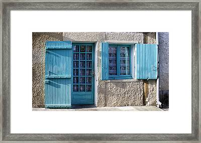 Cottage In France Framed Print by Georgia Fowler