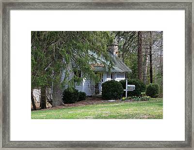 Cottage Framed Print by Suzanne Gaff