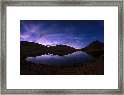 Cotton Candy Framed Print by Aaron S Bedell