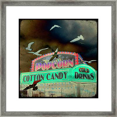 Cotton Candy Framed Print by Gothicolors Donna