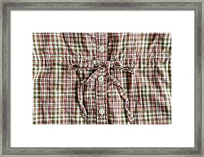 Cotton Top Framed Print by Tom Gowanlock