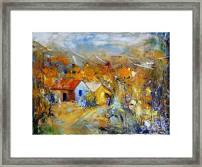 Couleurs D'automne Framed Print by Aline Halle-Gilbert