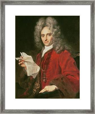 Count Alois Thomas Raimund Von Harrach 1669-1742 Framed Print by Johann Kupezky or Kupetzky
