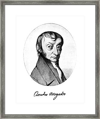 Count Amedeo Avogadro (1776-1856) Framed Print by Granger