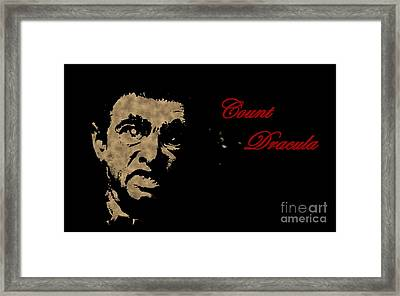 Count Dracula Visits Halifax Framed Print by John Malone