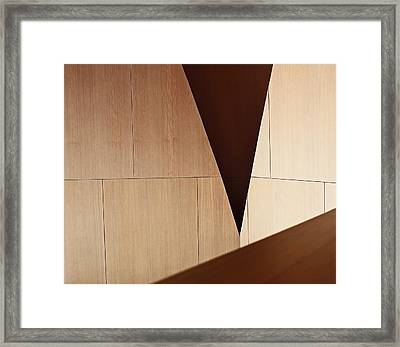 Counterpoint Framed Print by Rona Black