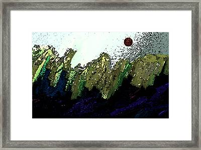 Country Abstract Framed Print by Lenore Senior