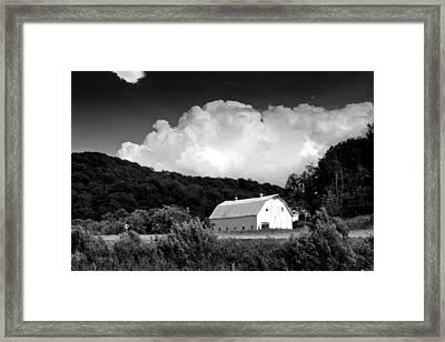 Country Barn Framed Print by Shane Holsclaw