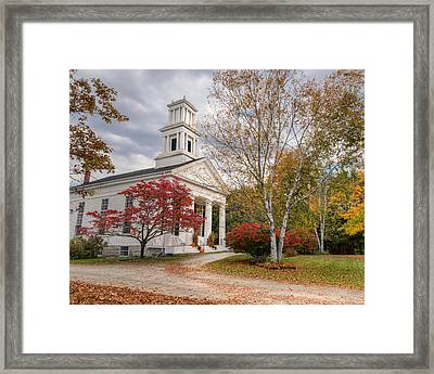 Country Chapel Framed Print by Bill Wakeley
