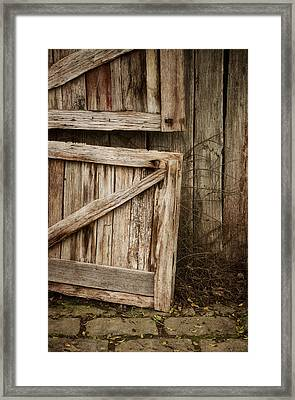 Country Charm Framed Print by Amy Weiss