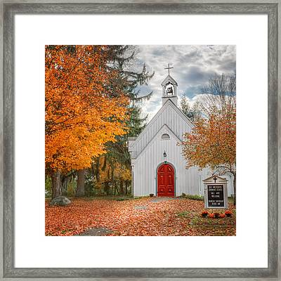 Country Church Framed Print by Bill Wakeley