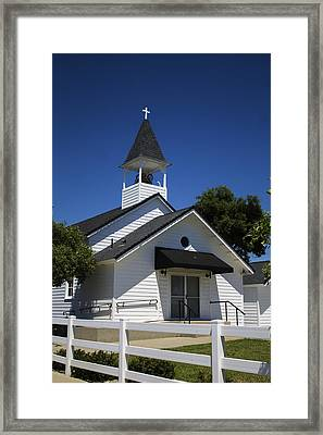 Country Church Framed Print by Dee  Savage
