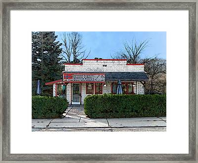 Country Comforts In Scandinavia Wisconsin Framed Print by David Blank