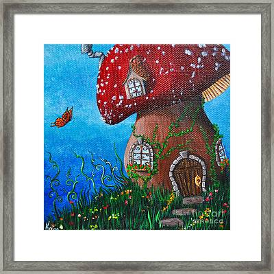 Country Cottage Framed Print by Kyra Wilson