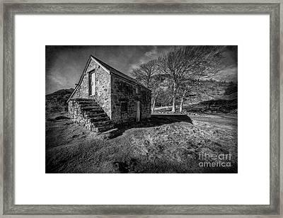 Country Cottage V2 Framed Print by Adrian Evans