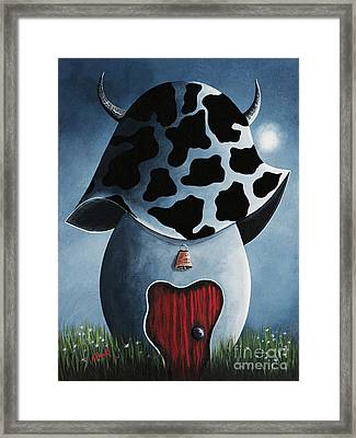 Country Escape By Shawna Erback Framed Print by Shawna Erback
