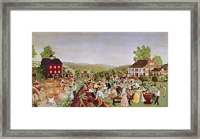 Country Festival, 1853 Framed Print by Granger