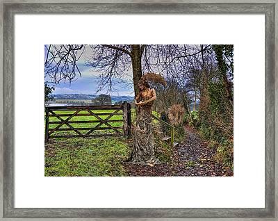 Country Girl Framed Print by Alex Hardie