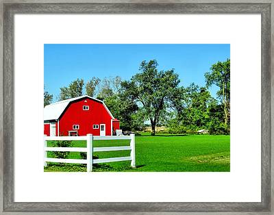 Country Living Framed Print by Dan Sproul
