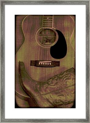 Country Music Framed Print by Dan Sproul