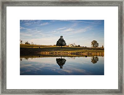 Country Peace Framed Print by Swift Family