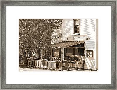 Country Restaurant Framed Print by Kirt Tisdale