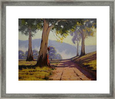 Country Road Australia Framed Print by Graham Gercken