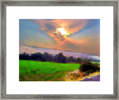 Country Road Framed Print by Molly McPherson