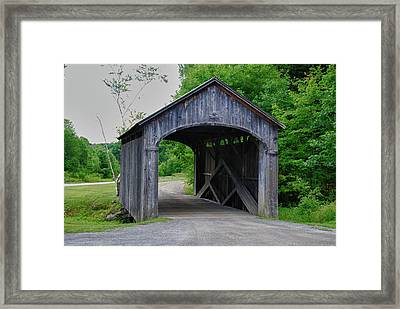 Country Store Bridge 5656 Framed Print by Guy Whiteley