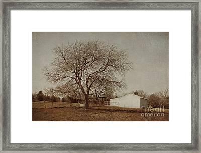 Countryside Framed Print by Elena Nosyreva