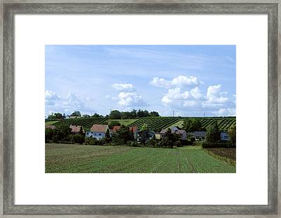 Countryside Framed Print by Haleh Mahbod