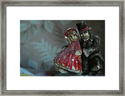 Couple Framed Print by Mark Zelmer
