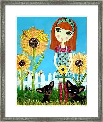 Courage 2 Framed Print by Laura Bell