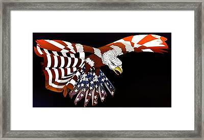 Courage Framed Print by Charles Drummond