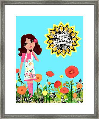 Courage Framed Print by Laura Bell