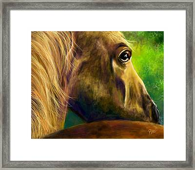 Courage Framed Print by Maria Schaefers